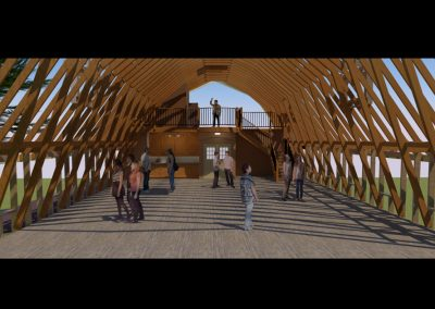 New learning space in renovated hayloft
