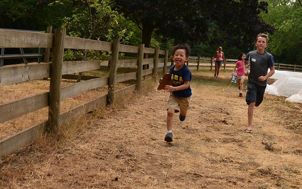 Kids Playing Game at Brooksdale