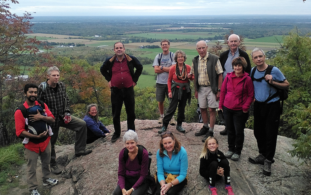 Hiking Group in Ottawa Valley