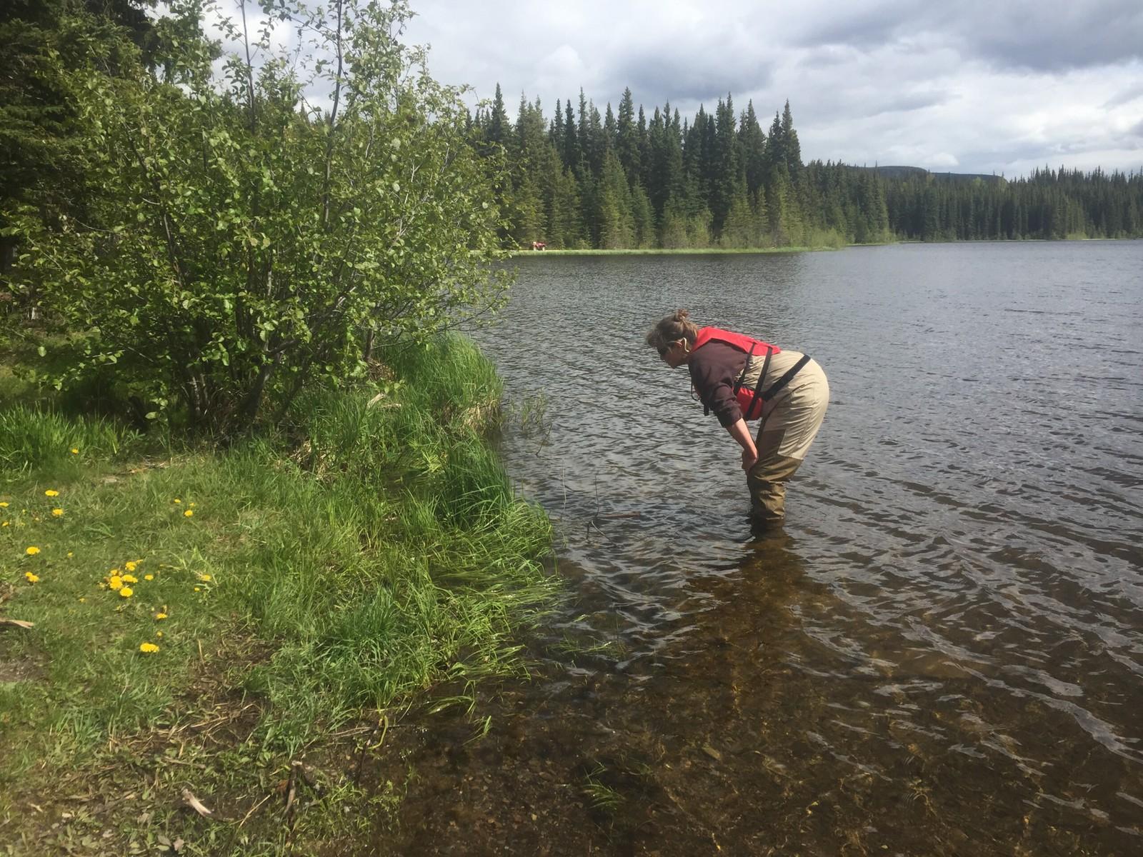Margaret Letkeman at Silverthorne Lake